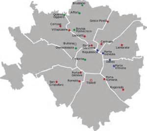Disposizione attuale delle stazioni ferroviarie sul territorio