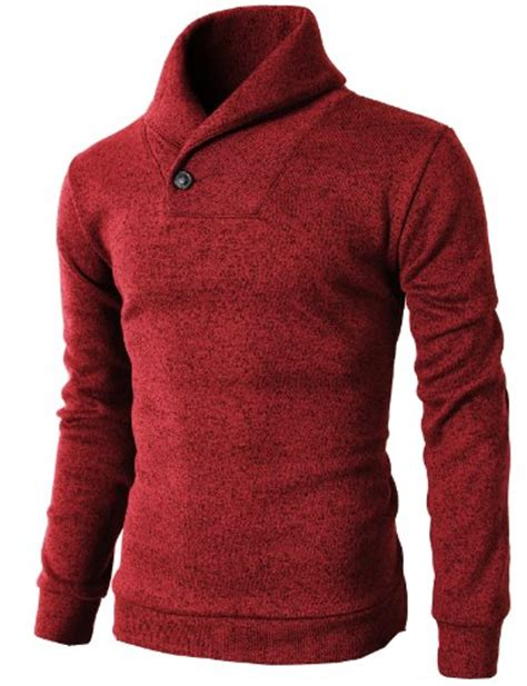 Mens Sweaters Cardigan Rajut Abu Swe 814 h2h s one button point shawl collar knited slim fit pullover sweater in the uae see prices