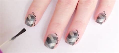 fifty shades of grey nails easy nail art tutorial 50 shades of diy easy nail art designs for beginners opi fifty 50