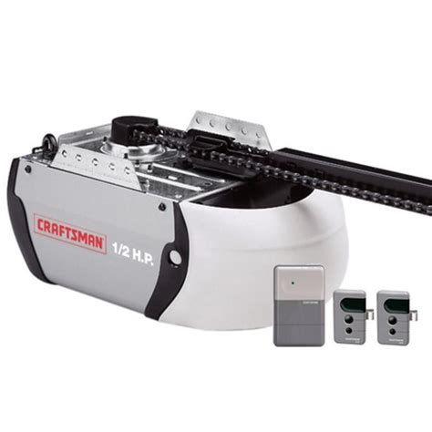 Sears Canada Garage Door Opener by Sears Canada Craftsman Md Craftsman 1 2 Hp Chain Driven
