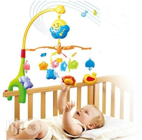 Musical Baby Crib Mobile Baby Cot Musical Mobile Set For Sale In Lagos Mainland Buy Toys New Baby Cot Musical Mobile