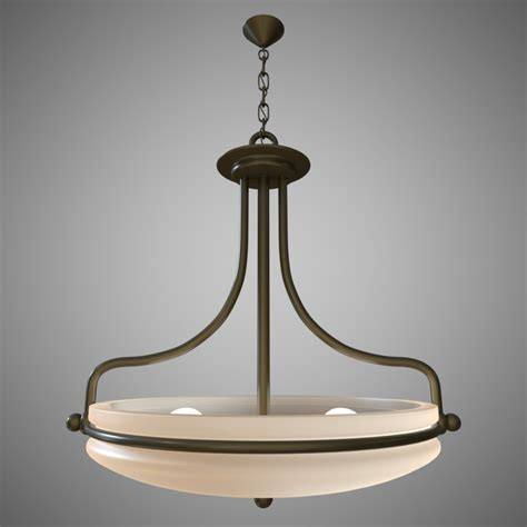 Uplight Ceiling Light Uplight Ceiling Light 3d Model