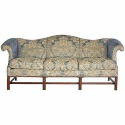 Camel Back Sofa by Chippendale Design Camel Back Sofa At 1stdibs