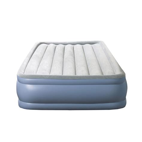 air bed full size simmons beautyrest full size 16 in hi loft raised air bed
