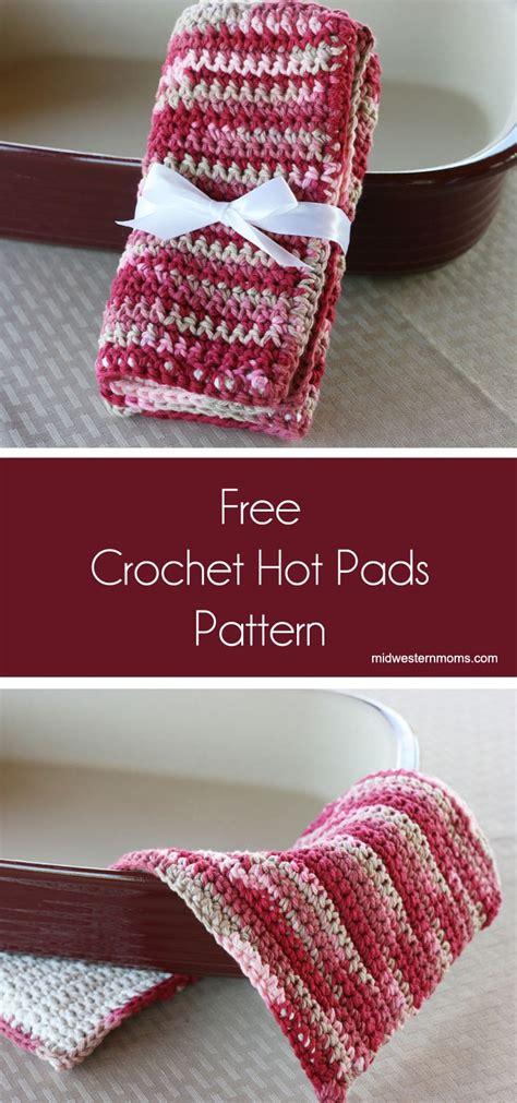 dish towel potholder tutorial youtube crochet hot pads