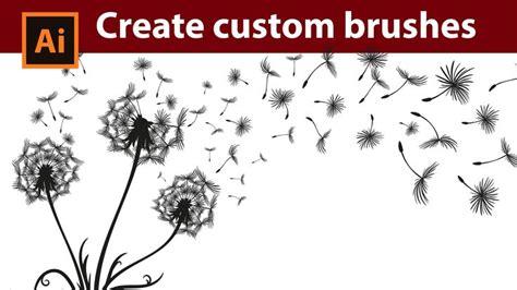 construct 2 custom movement tutorial create custom dandelion brushes in adobe illustrator