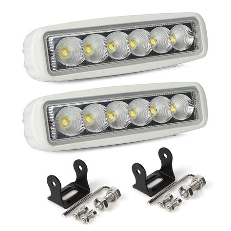 boat led lights 12v ltc 2pcs spreader led marine boat lights flood light 12v