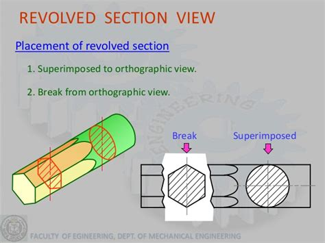 solidworks rotate section view graphics lecture 4 section view