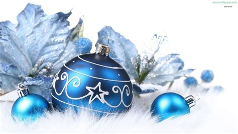 blue and silver christmas ornaments doliquid