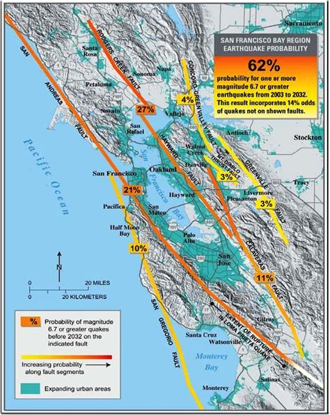 earthquake fault lines map california fault line map geology pinterest