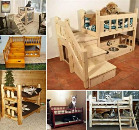 bunk beds for dogs dog bunk beds best ideas easy video instructions