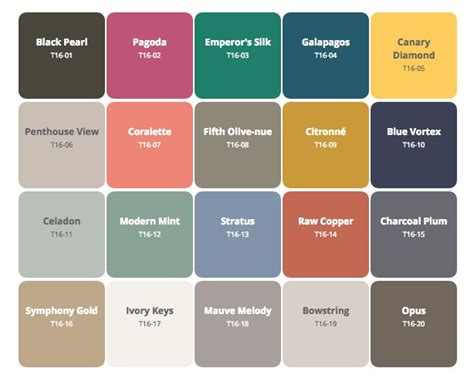 behr color trends and trends on