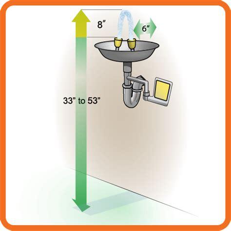 Plumbed Eyewash Station Requirements by Osha Regulations For Eyewash Stations