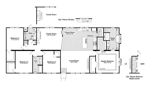 floorplan or floor plan the urban homestead ft32563c manufactured home floor plan