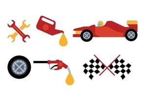 Pit Top Pit Stop Vector Free Vector Stock Graphics