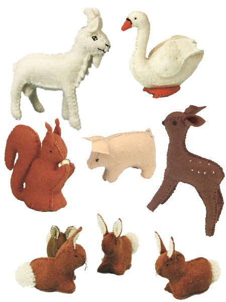 free pattern small felt animals 25 best ideas about felt stuffed animals on pinterest
