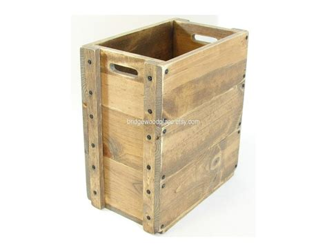 Furniture From Wooden Crates by Wooden Crate Furniture Wood Box Sofa Or Chair Side Storage