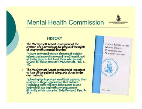 Section 37 Of The Mental Health Act by Northern Ireland Mental Health 2009