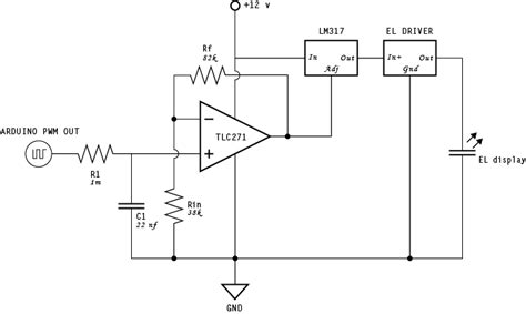 lovely el wire inverter circuit pictures inspiration