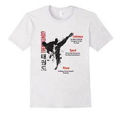 Tshirt Taekwondo Kick Logo Baam taekwondo original t shirt designs promoting the