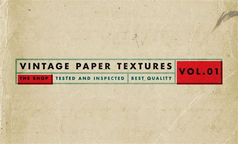 paper volume 1 vintage paper textures volume 1