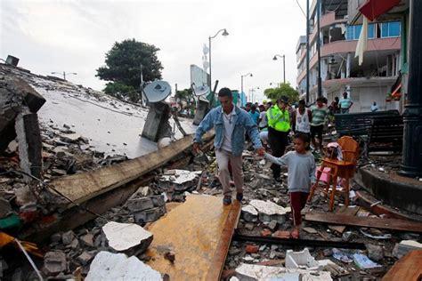 pedernales en ecuador pedernales epicentro de una tragedia en ecuador la prensa