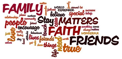 Friend Of The Family faith family friends quotes quotesgram