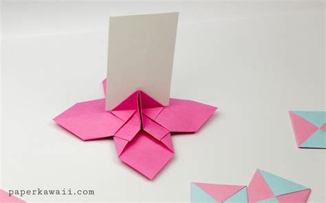 Origami Flower Card - 599 best petits papiers origami images on