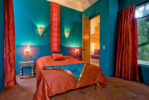 red and teal bedroom bedroom design 33 design ideas from morocco fresh design