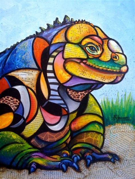 picasso paintings animals the lounge lizard the artwork of steven schuman
