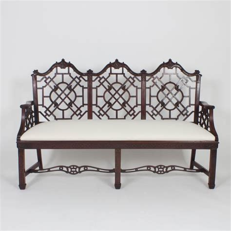 antique settee styles antique english chinese chippendale style settee for sale
