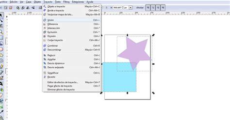 tutorial de como usar inkscape aprende a usar inkscape 32 como combinar y fusionar