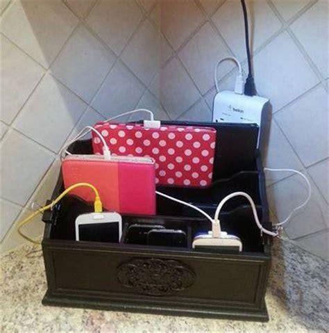 phone charger organizer homework charger and charging stations on pinterest