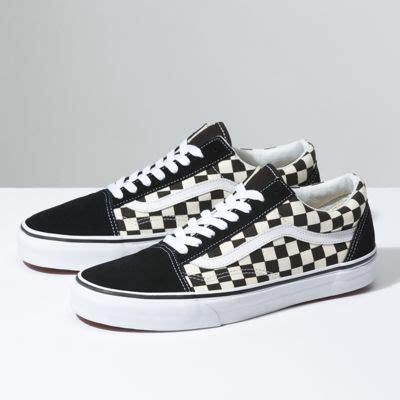 Vans Slip On Checkerboard Darkblue White primary check skool shop at vans