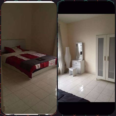 master bedroom with view for rent in palm