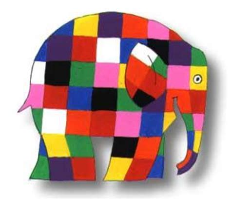 Elma The Patchwork Elephant - elmer the elephant easy craft the honorable mention