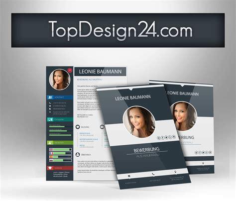 Moderne Bewerbung Muster moderne bewerbung topdesign24 ideales deckblatt
