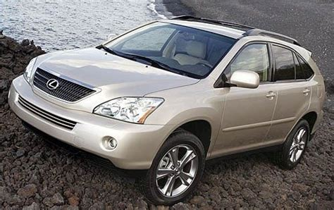 lexus crossover 2008 2008 lexus rx 400h towing capacity specs view