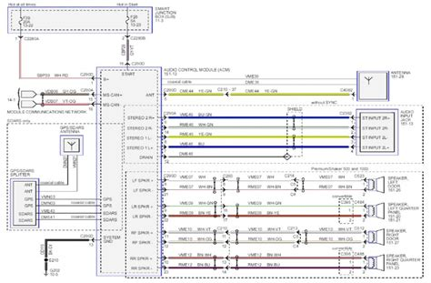 2000 ford mustang wiring diagram for radio efcaviation