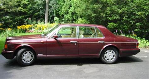 roll royce maroon maroon 1995 rolls royce flying spur picture rolls r car