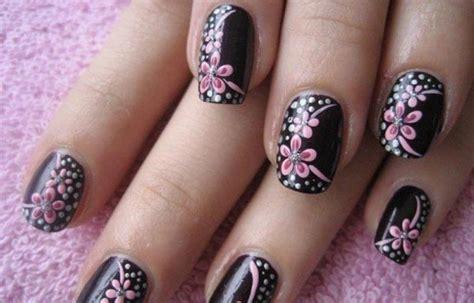 imagenes de uñas pintadas en flores dise 241 os de u 241 as con flores u 241 asdecoradas club