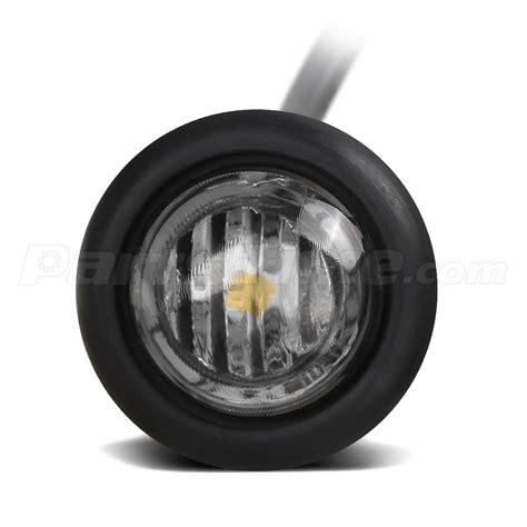 flush mount led lights 12v 3 4 quot white led flush mount side marker bullet light front