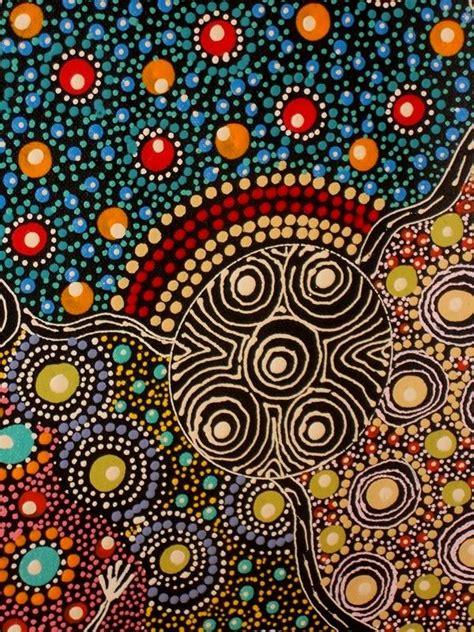 dot pattern aboriginal 23 best australian aboriginal style painting images on