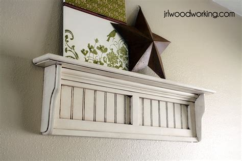 beadboard wall shelf plans woodwork city  woodworking plans