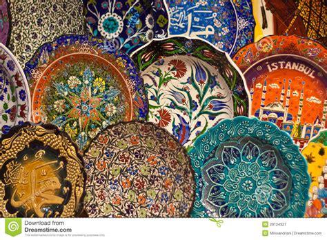 turche bagni arte ceramica turca fotografia stock libera da diritti