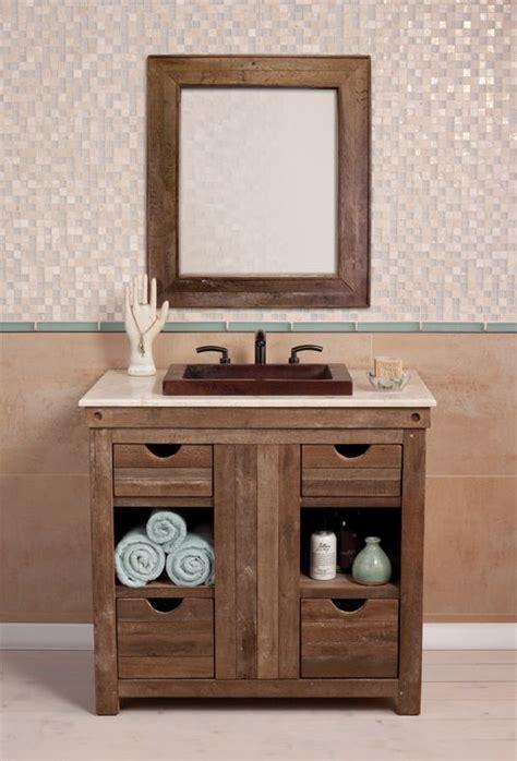 Primitive Country Bathroom Ideas by Muebles Para Ba 241 O De Madera