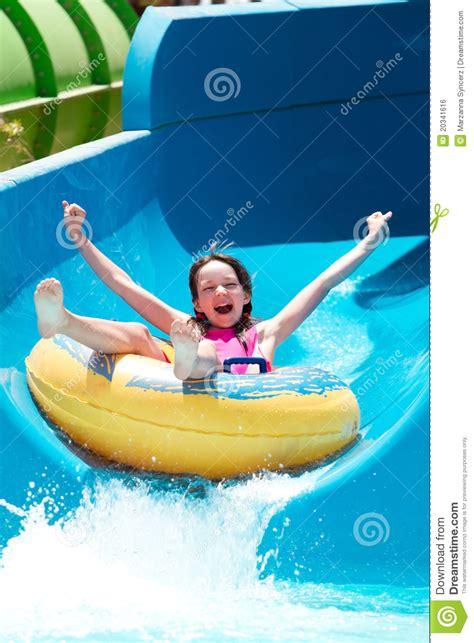 Water Slide Wardrobe by On Water Slide Royalty Free Stock Image Image 20341616