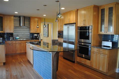 Maple Spice Kitchen Cabinets Kraftmaid Brockton Maple Honey Spice