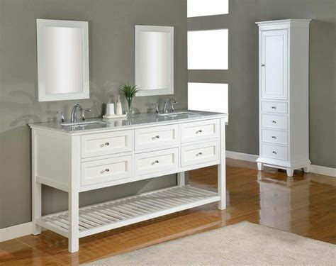 White Vanities For Bathroom Discount Bathroom Vanities Soft White Finish Bathroom