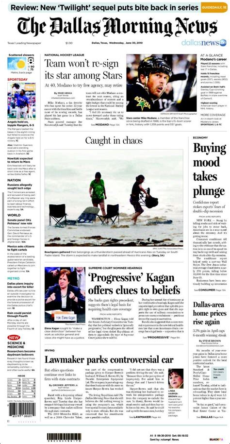 newspaper dallas morning news usa newspapers in usa